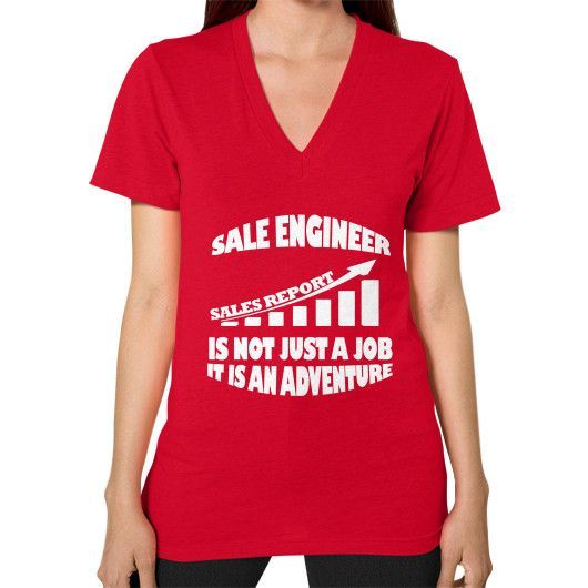 Sale engineer V-Neck (on woman)