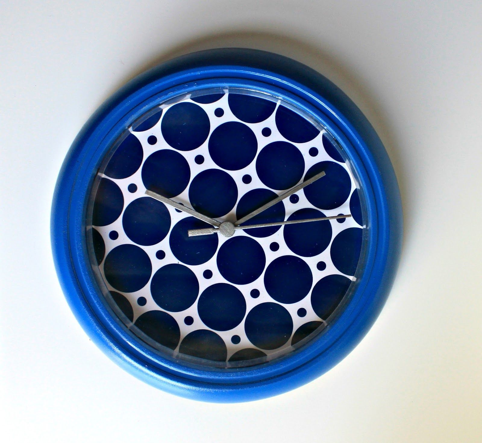 Sew Much Sunshine [to the square inch]: IKEA Hack: Personalized Rusch Clock