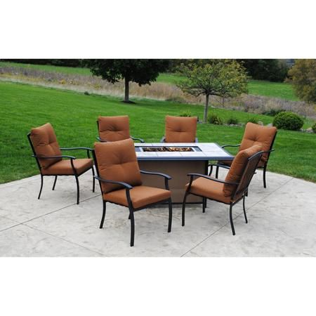Better Homes and Gardens Lake Newland 7-Piece Outdoor Conversation ...