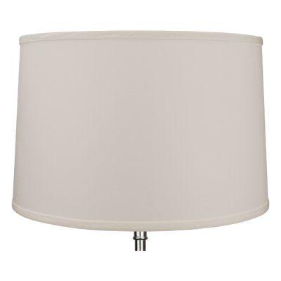 Red Barrel Studio 17 Linen Drum Lamp Shade Color Finish Ivory Drum Lampshade Lamp Shade Lamp