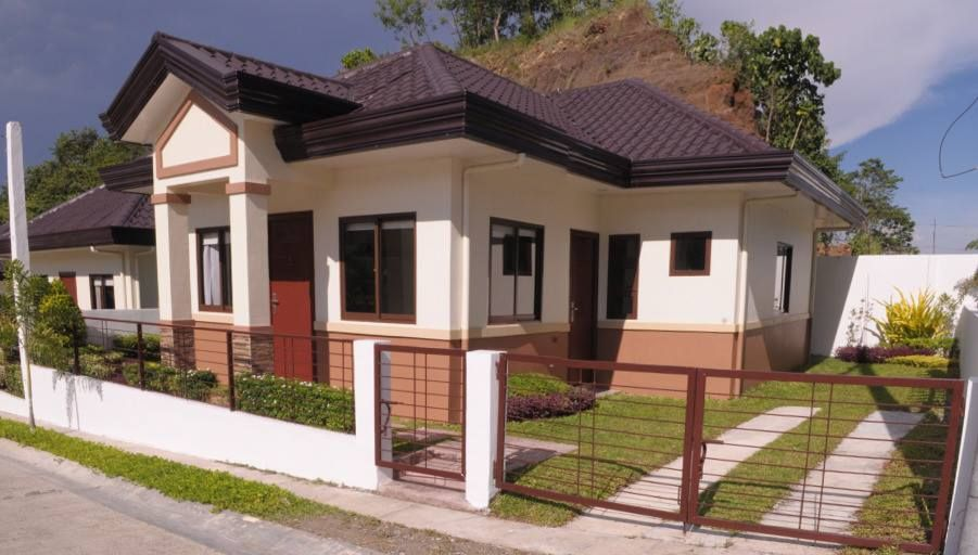 100 Small Beautiful House Design Photos That You Can Get Ideas From Simple House And Bungalo Small House Design Small House Design Plans Beautiful Small Homes