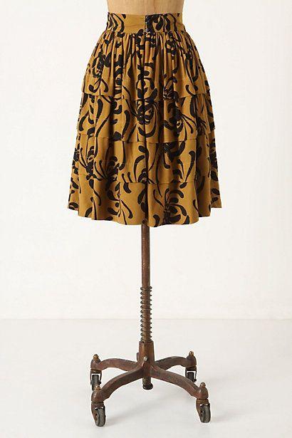 Fall Skirt from Anthropologie