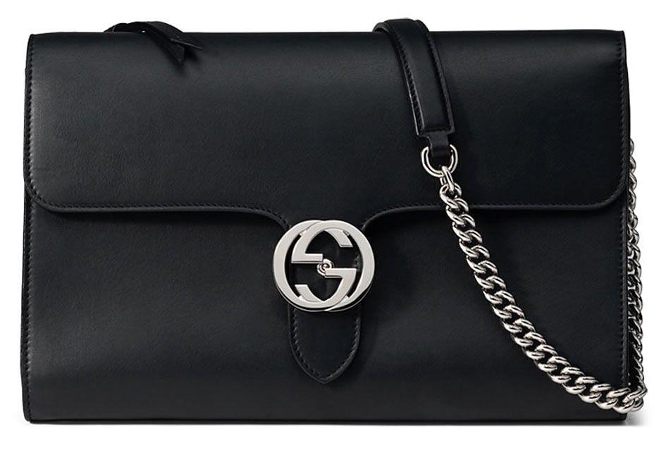151eb11057 Gucci Interlocking Bag Black