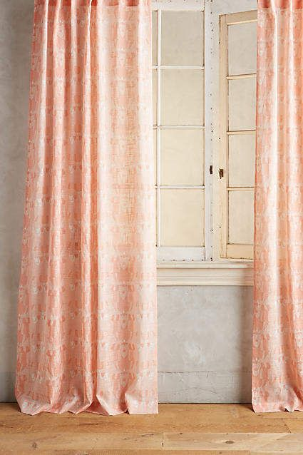 Adjustable Double Curtain Rod Anthropologie Curtains