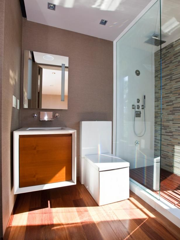 Japanese-Style Bathrooms Pictures, Ideas \ Tips From Japanese