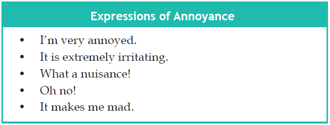 Contoh Percakapan Dialog Expressing Annoyance And Anger In