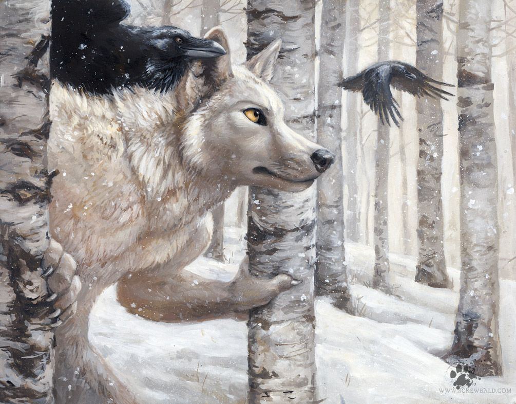 Blotch Unknown Misc Anthro Birds Forest Male Realistic Snow Snowing