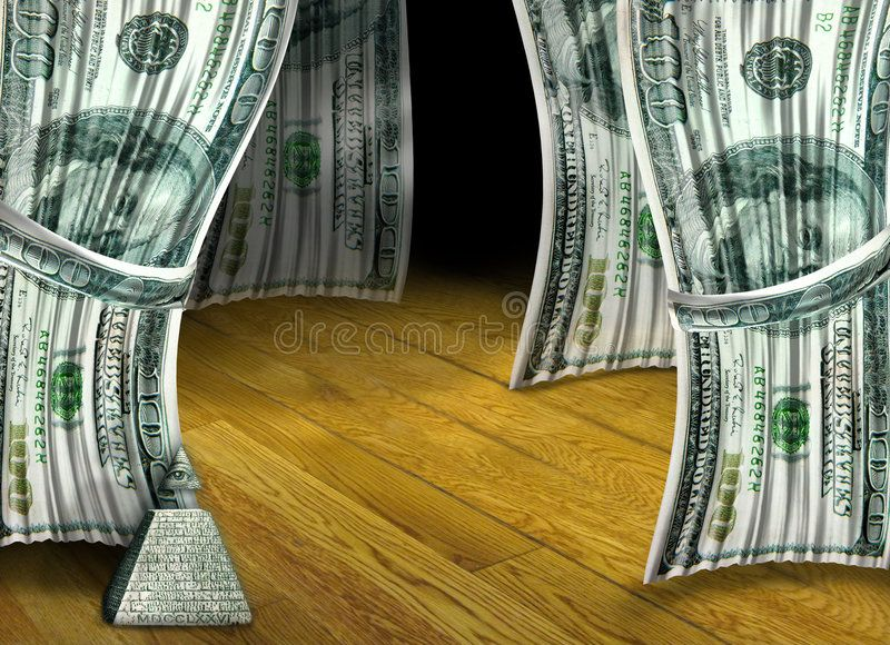 Money Performance Two 100 Dollar Bill Curtains Are Pulled Back To An Empty Floo Aff Bill Curtains Pulled Do 100 Dollar Bill Stock Images Free Bills