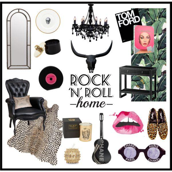 Roll House, Rock Bedroom, Rock Decor
