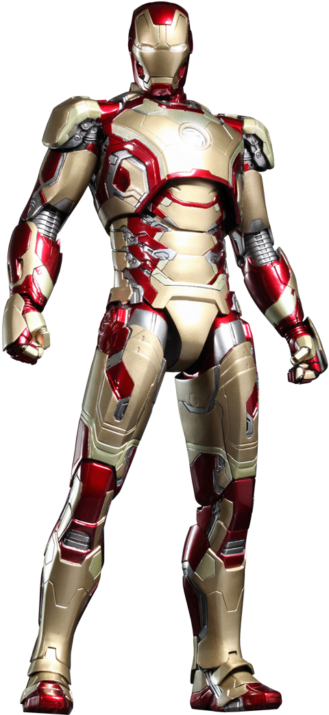 Marvel Iron Man Mark Xlii 42 Sixth Scale Figure By Hot Toy