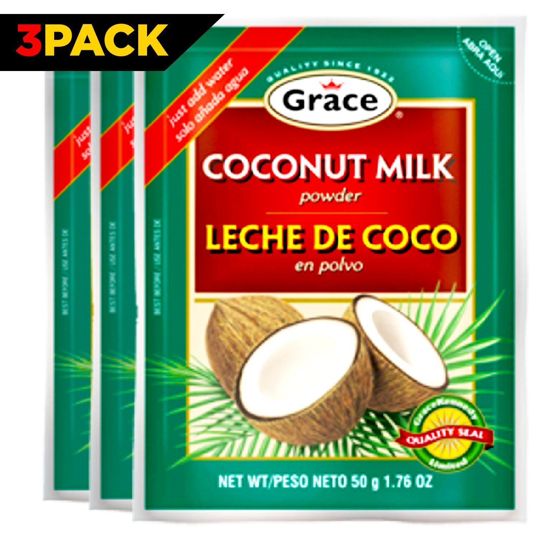 Grace Dry Coconut Milk Powder 3 pack No Preservatives