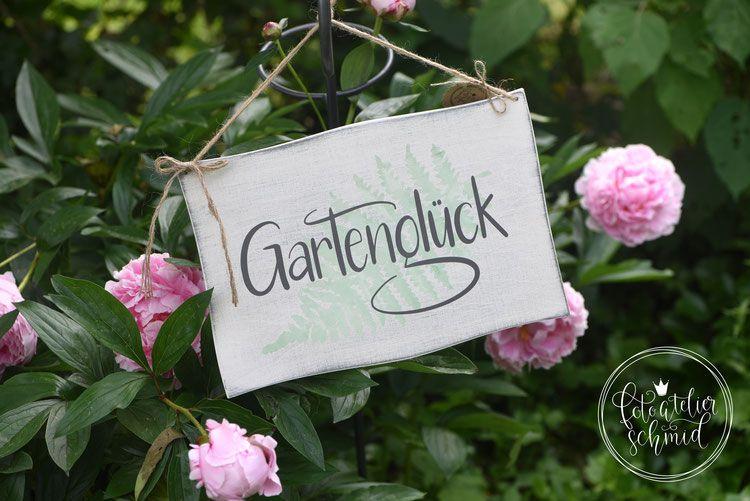 Gartengluck 2 Basteln Fruhling Alte Fenster Dekorieren Schilder