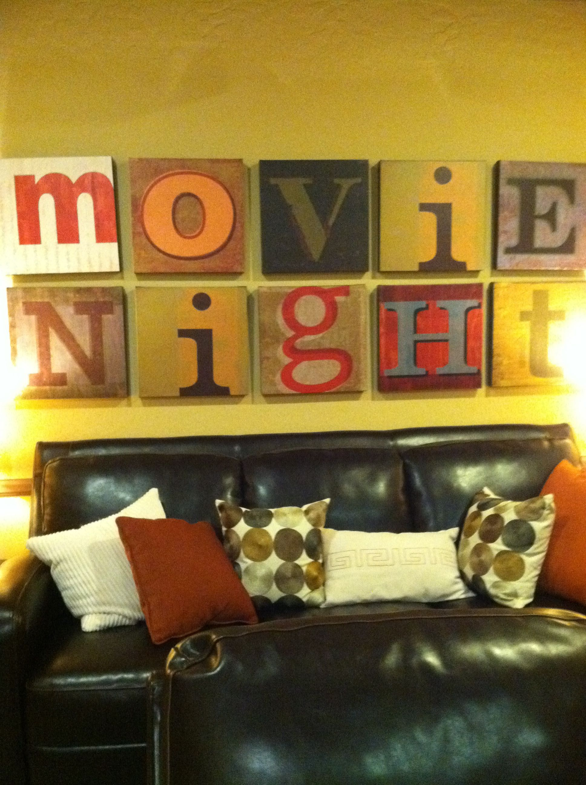 Amazing Movie Theater Wall Decor Composition - The Wall Art ...