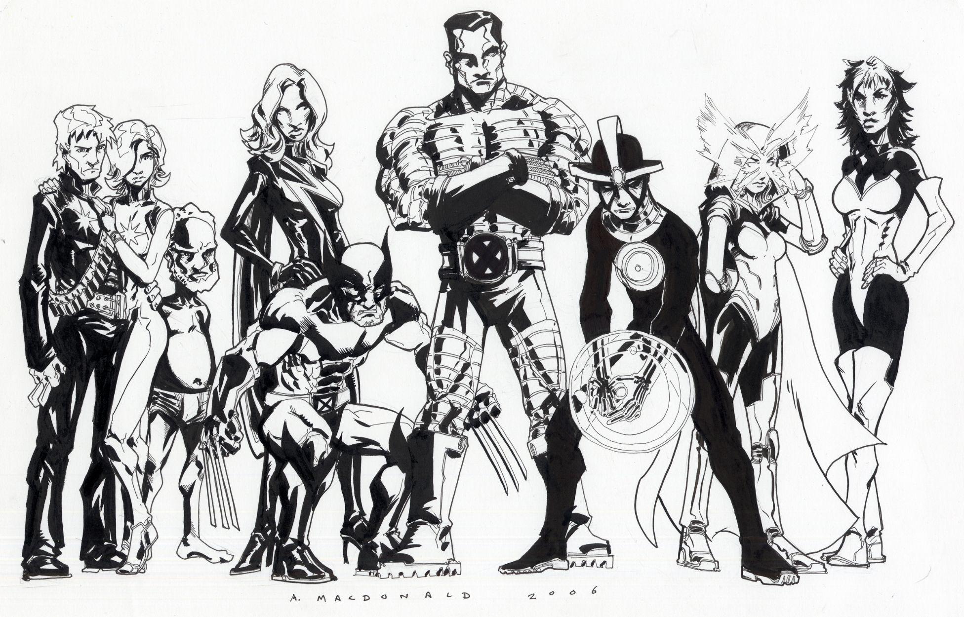Australian X-Men - Andy MacDonald