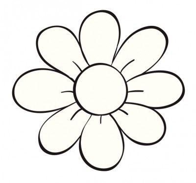 Imagenes Para Colorear Flores Faciles Con Imagenes Dibujos De