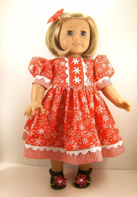American Girl Doll Clothes 18 Inch Doll Dress Short Sleeved ...
