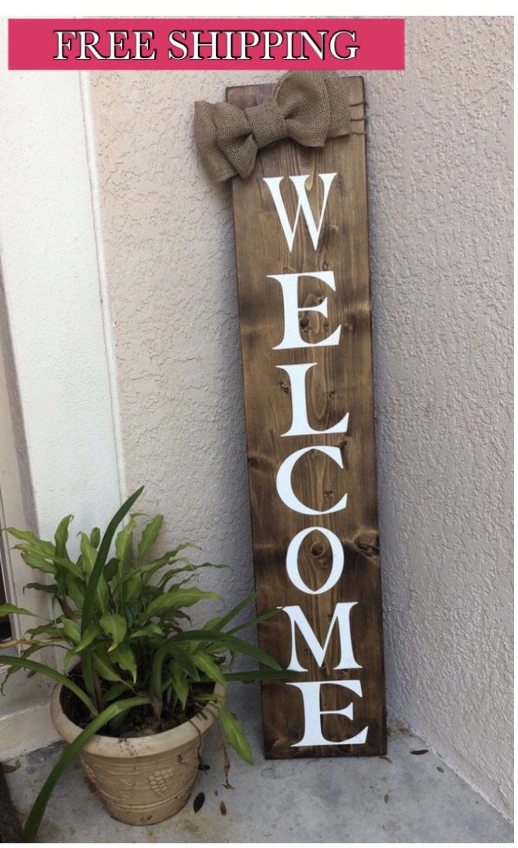 Excited To Share This Item From My Etsy Shop Front Door Decor Front Porch Decor Welcome Sign In 2020 Welcome Signs Front Door Wooden Welcome Signs Front Porch Signs