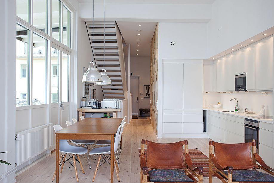 Appartment einrichten Skandinavischer Stil Wohnung Pinterest - wohnzimmer skandinavischer stil