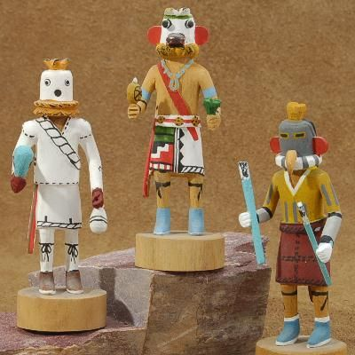 Miniature Native American Kachina Dolls.jpg 400×400 pixels
