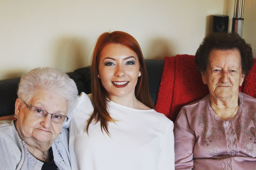 Family mean the world to me! Especially my Nanny and my Greaty Gran
