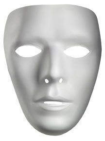 Plain White Masks To Decorate Beauteous Blank Male Drama Mask  Accessories  Pinterest  I Want Of And Review