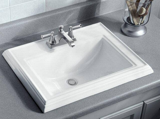 Kohler K 2241 4 Drop In Bathroom Sinks Square Bathroom Sink
