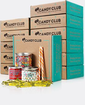 Subscription to Candy Club    Monthly package send with over 5 lb of
