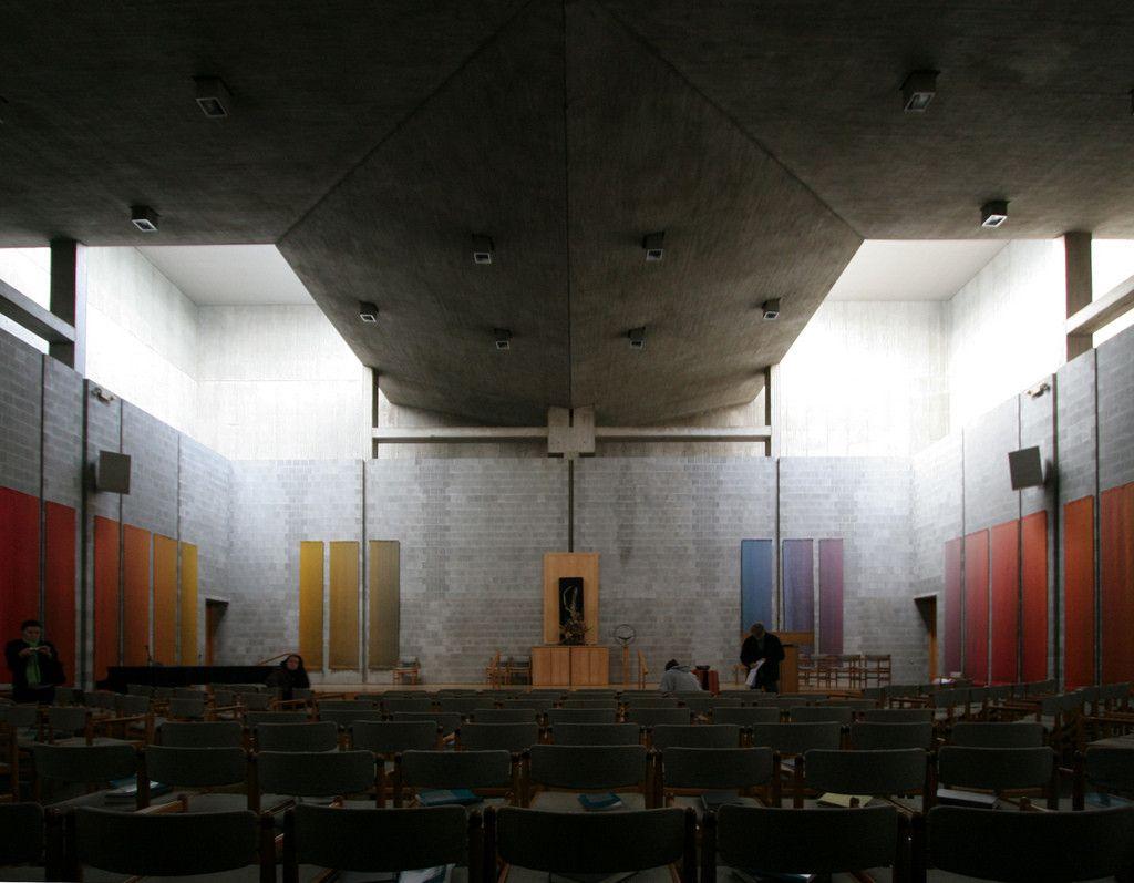 Gallery Of AD Classics First Unitarian Church Rochester Louis Kahn