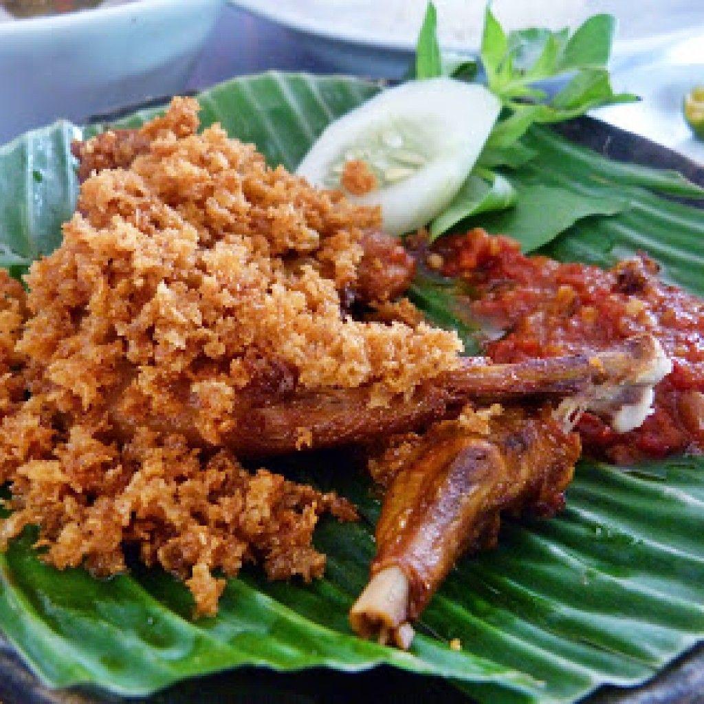 Resep Ayam Goreng Kremes Mbok Berek Di 2020 Resep Ayam Resep Masakan Ayam Goreng