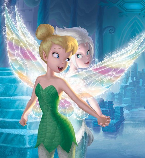 Tinker Bell and Periwi...
