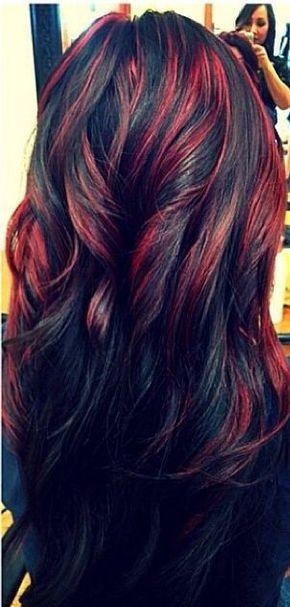 20 Fascinating Black Hairstyles 2021 Pretty Designs Black Hair Dye Black Wavy Hair Hair Highlights