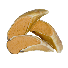 Peanut Butter Filled Cow Hooves - Dog Treats - Redbarn Pet Products