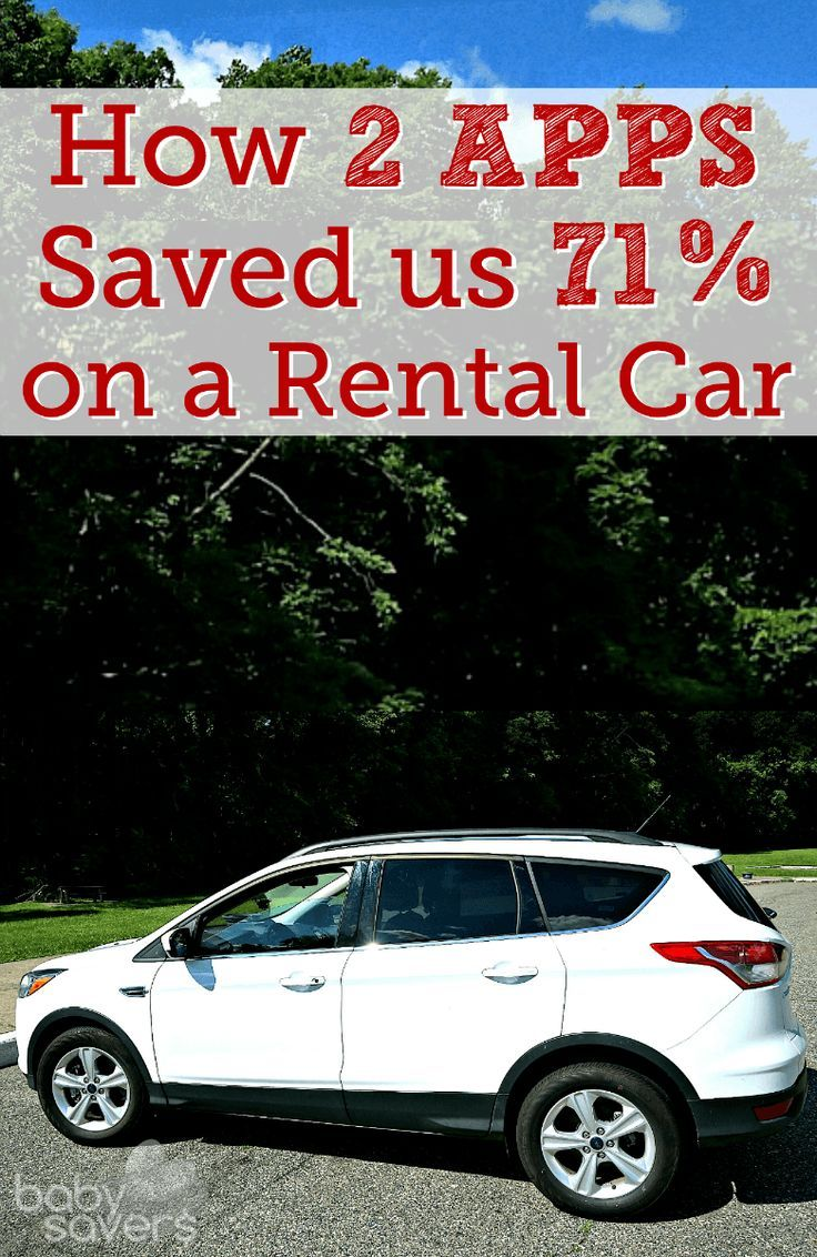 Apps that will save you money on rental cars car rental