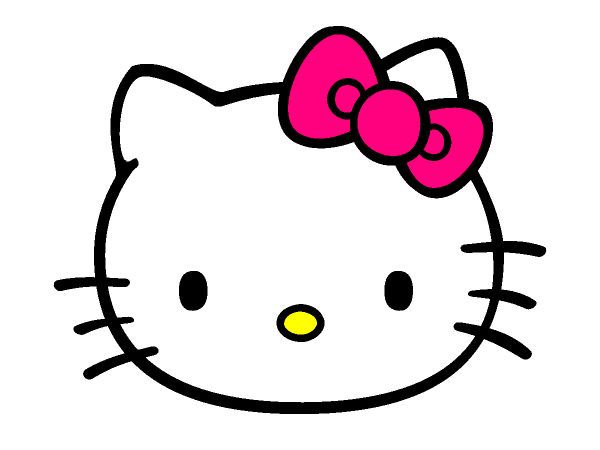 Free Hello Kitty Face Coloring Page Pages For You To Color Online Or Print Out And Use Crayons Markers Paints