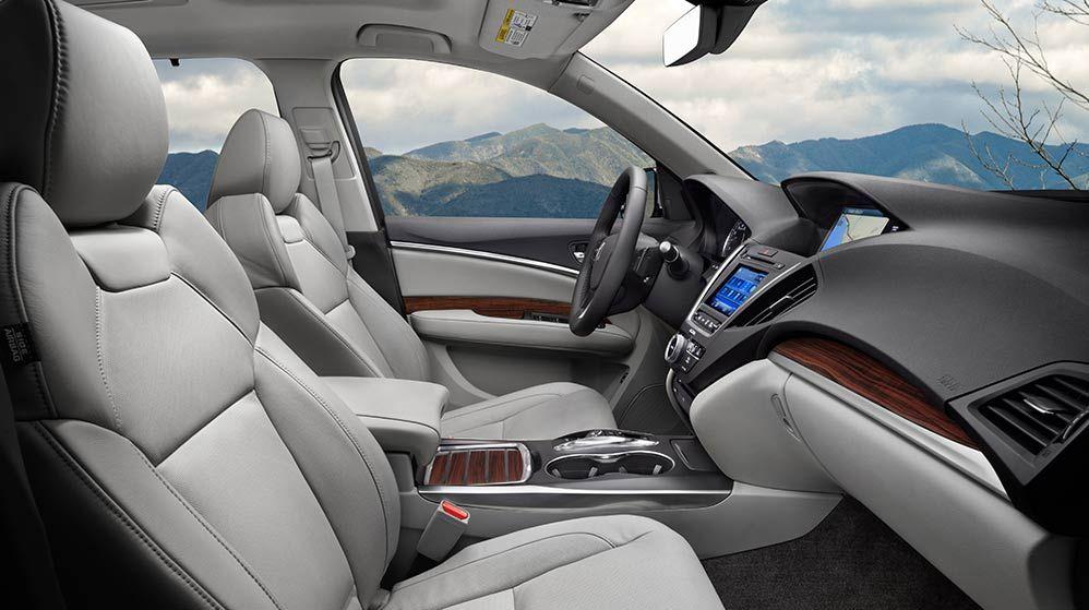 Gray Stone Interior View Acura Mdx Acura Acura Rdx