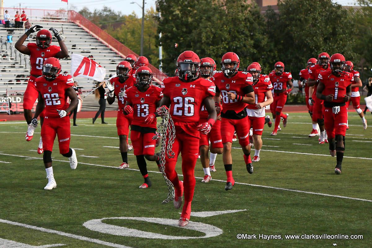 Apsu football heads to florida to battle ucf clarksville
