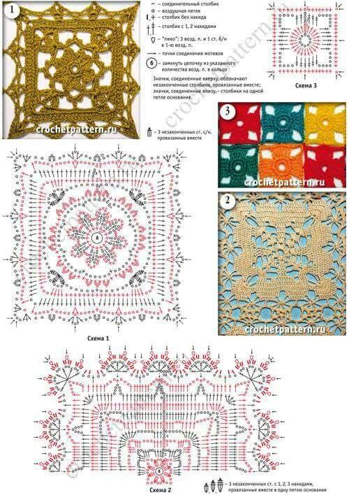 Puntdas 8 | puntadas crochet | Pinterest | Puntadas