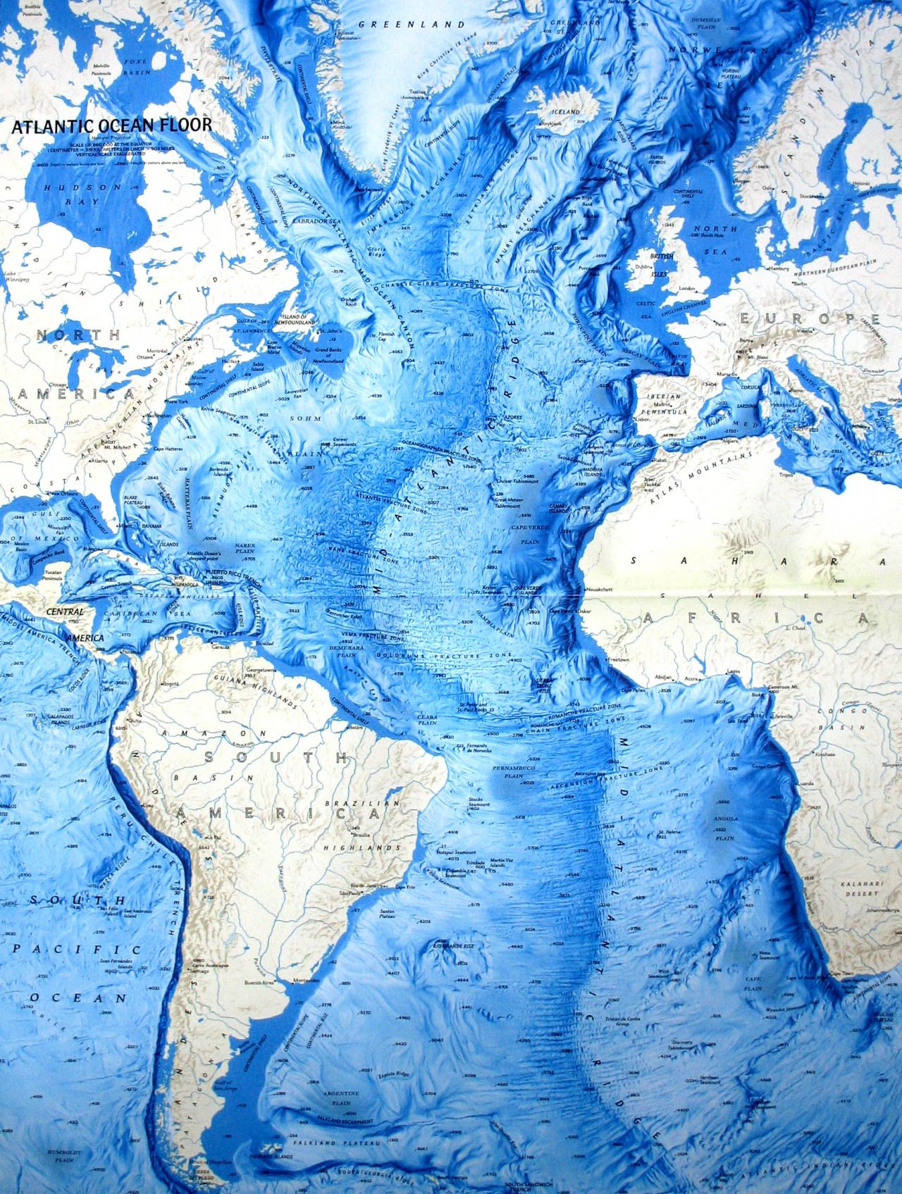 Topographic Map Of Ocean Floor.Beautiful Maps So Many Beautiful Maps Illustration In 2019