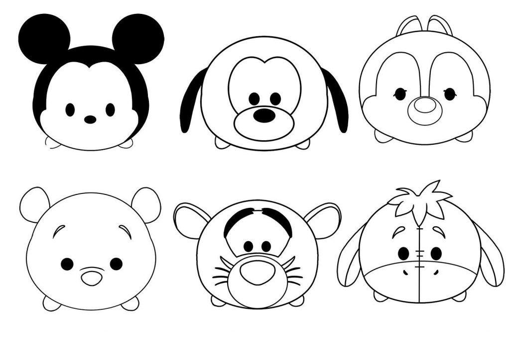 Tsum Tsum Coloring Pages Tsum Tsum Coloring Pages Disney