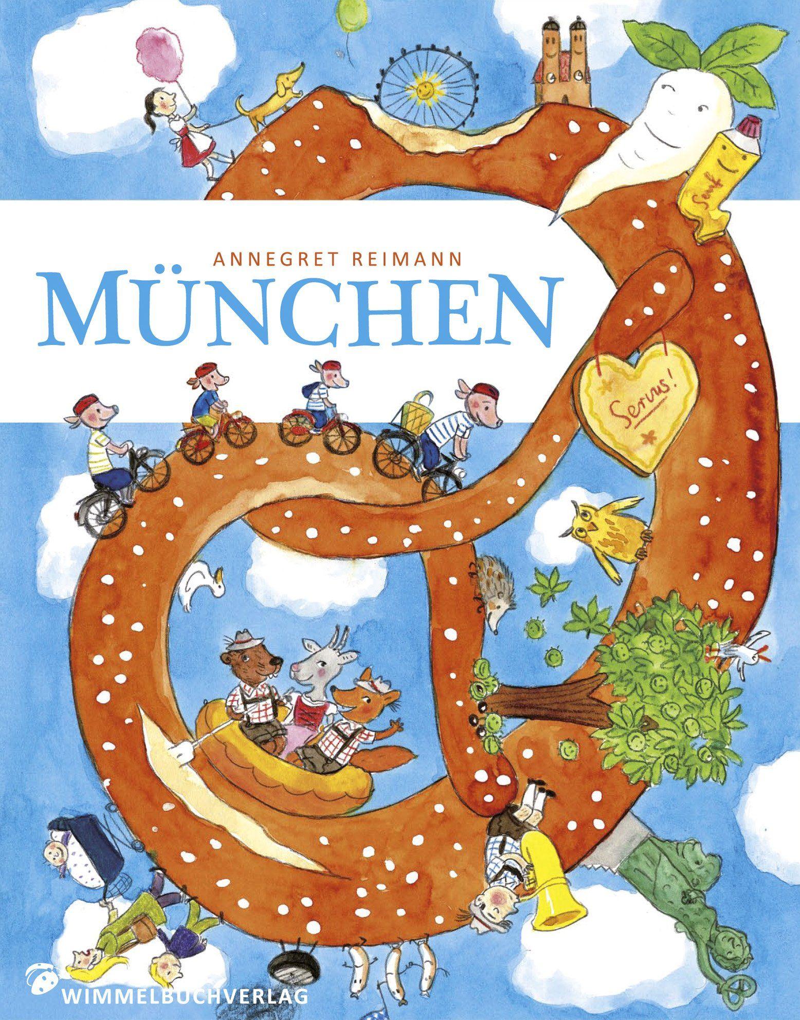 München Wimmelbuch: Amazon.de: Annegret Reimann: Bücher