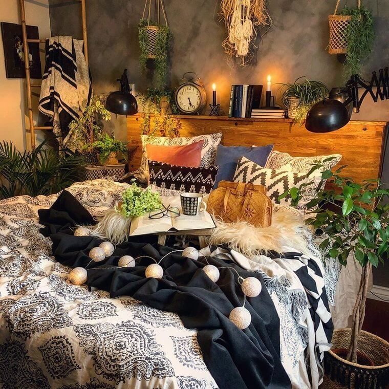 Improve Your Bedroom Charm with Bohemian Beds