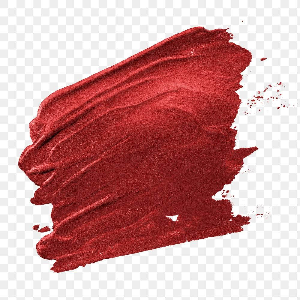 Shimmery Metallic Cherry Red Paint Brush Stroke Free Image By Rawpixel Com Karn Red Paint Paint Brushes Brush Strokes