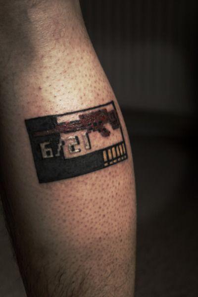 Old School Metal Gear Solid Tattoo D Nerd Tastic Ink Gear