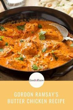 Gordon Ramsay\u2019s butter chicken Perfectly spiced, tender Indian meatballs with a creamy sauce. Whole30, paleo, and dairy free, this Indian dinner recipe has hidden veggies that keep the meatballs moist.\u00a0 #marinadesauce