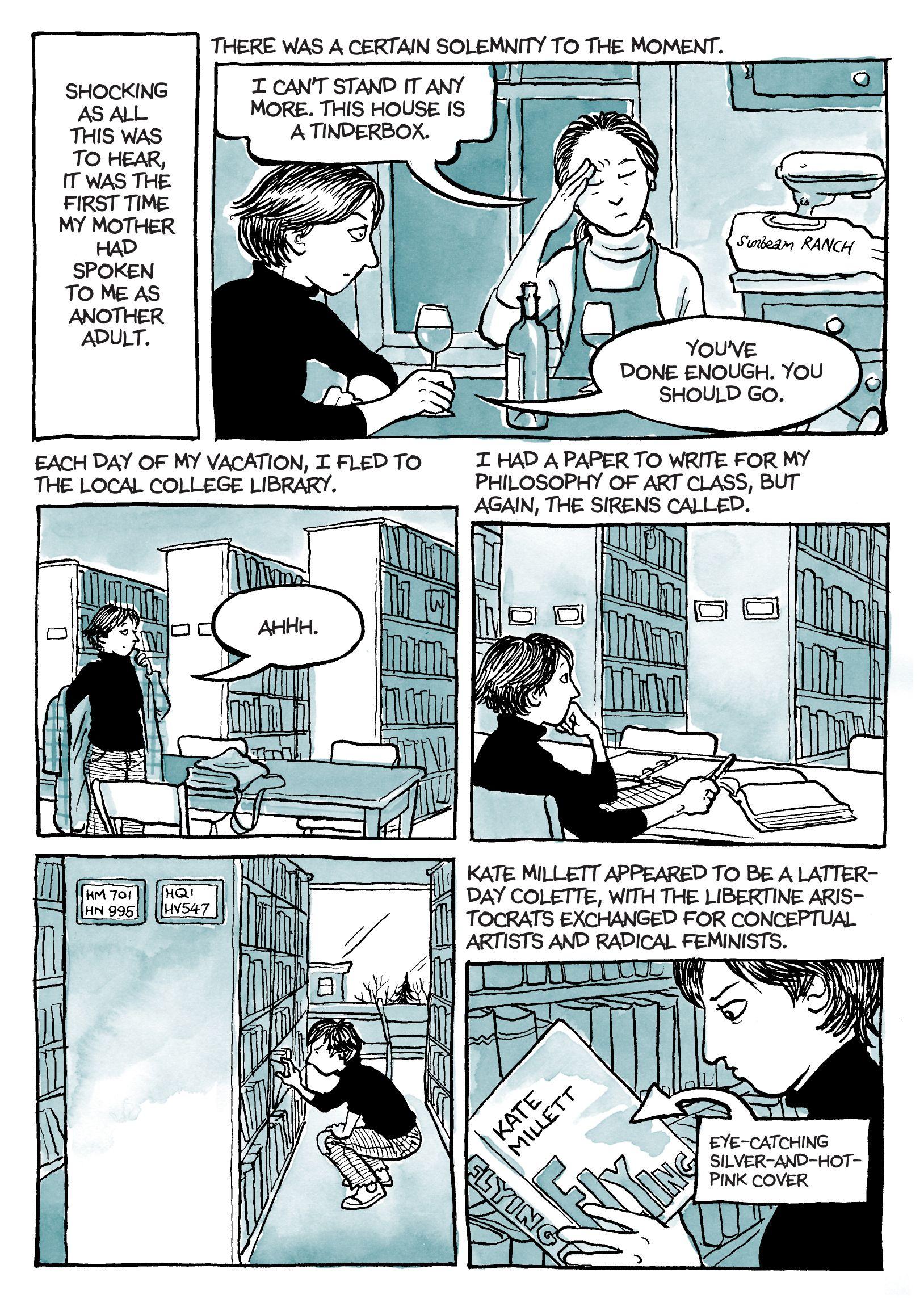 Alison Bechdel | Fun Home/Alison Bechdel | Comic styles