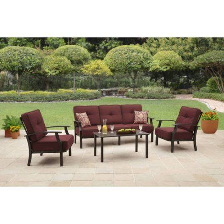 Better Homes and Garden Carter Hills Outdoor Conversation Set, Seats