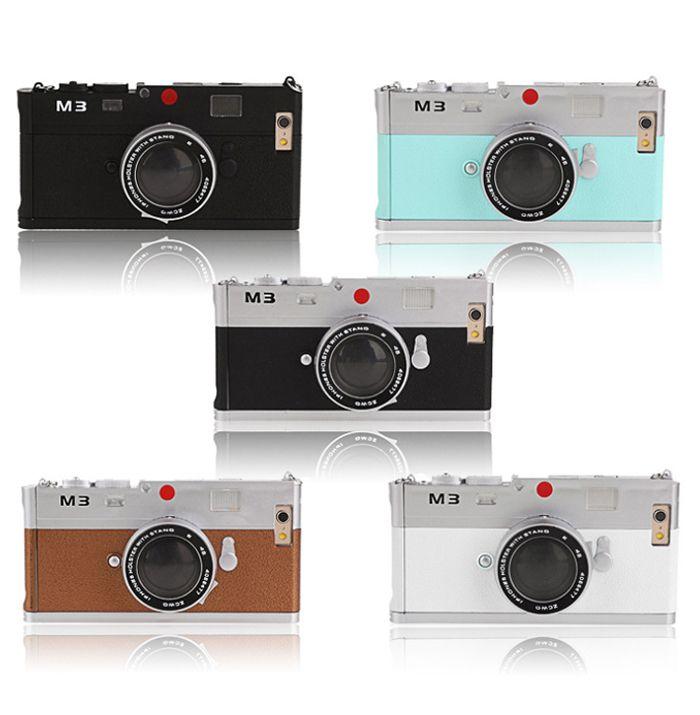 カメラ型iPhone6 ケース 3D Camera IPhone6 Case 立体 クラシック カメラ型 アイフォン