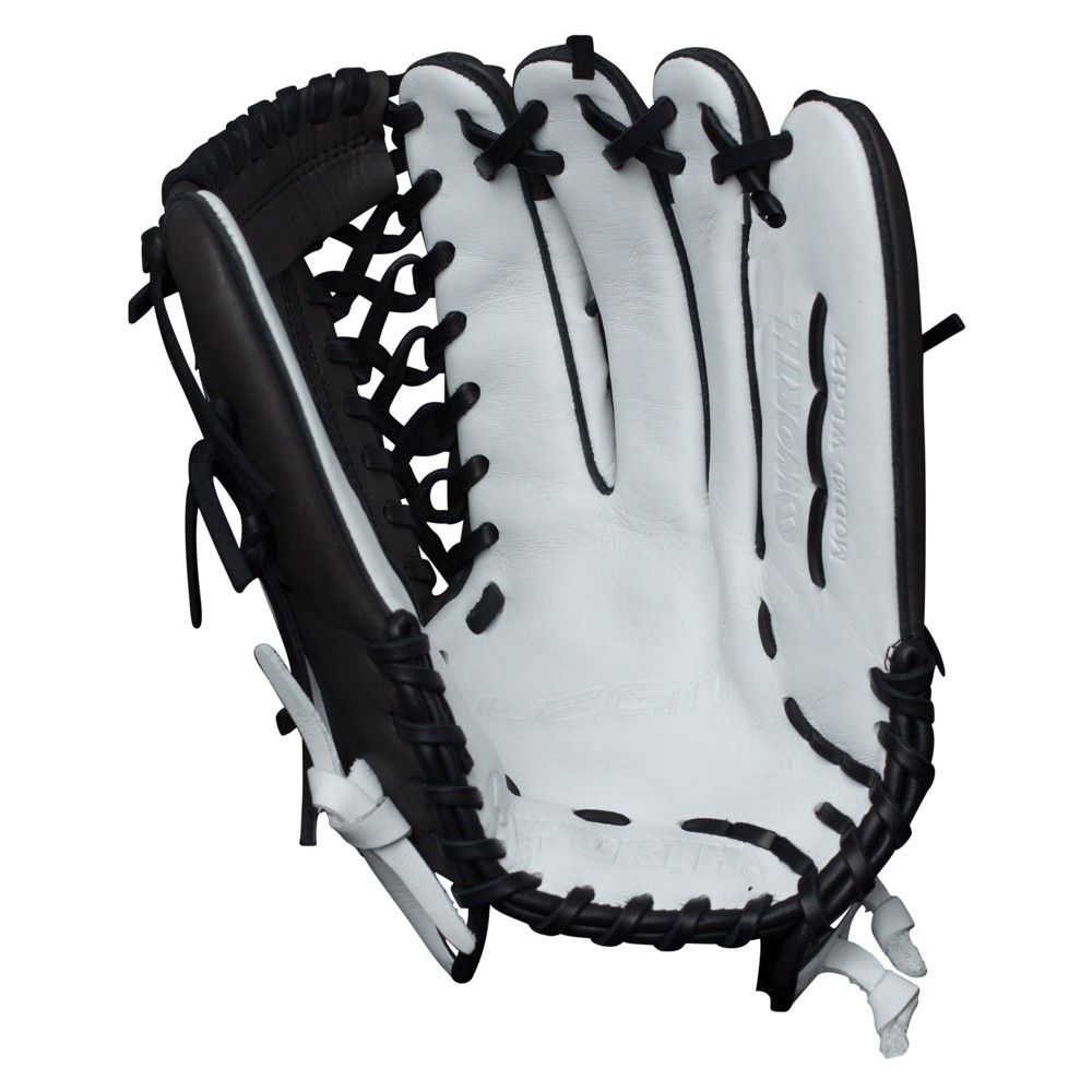 Worth Legit 12 75 Wlg127 Mt Slowpitch Softball Glove Right Hand Thrower Slow Pitch Softball Softball Gloves Softball Helmet