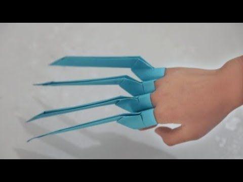 Photo of Wie man ein Papier macht Wolverine Claws | DIY Papier Handwerk | Easy Origami Schritt für Schritt Tutorial