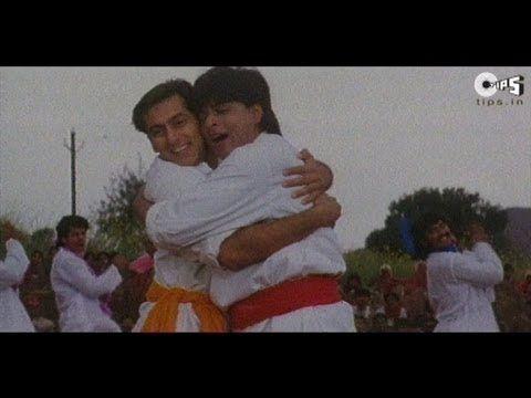 Bhangda Pale Aaja Aaja Full Song Karan Arjun Shahrukh Khan Salman Khan Youtube Bollywood Music Srk Movies Songs